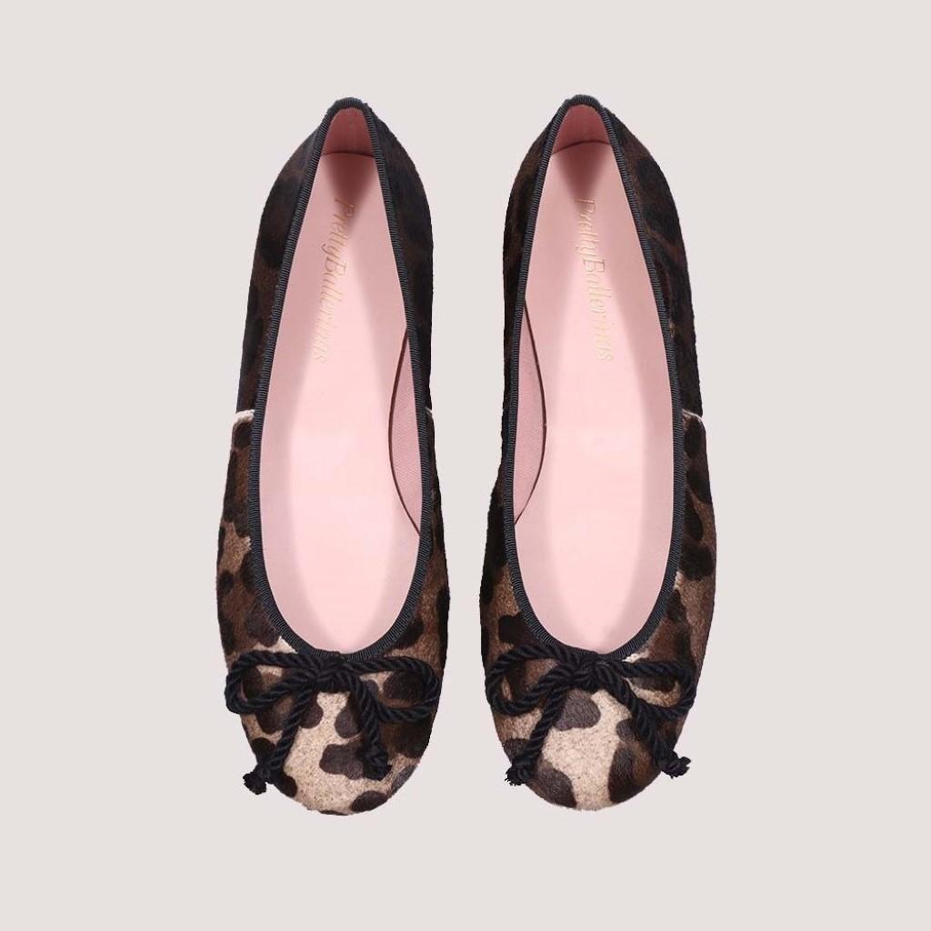 Rosario|חום|שחור|נעלי בובה|נעלי בלרינה|נעליים שטוחות|נעליים נוחות|ballerinas