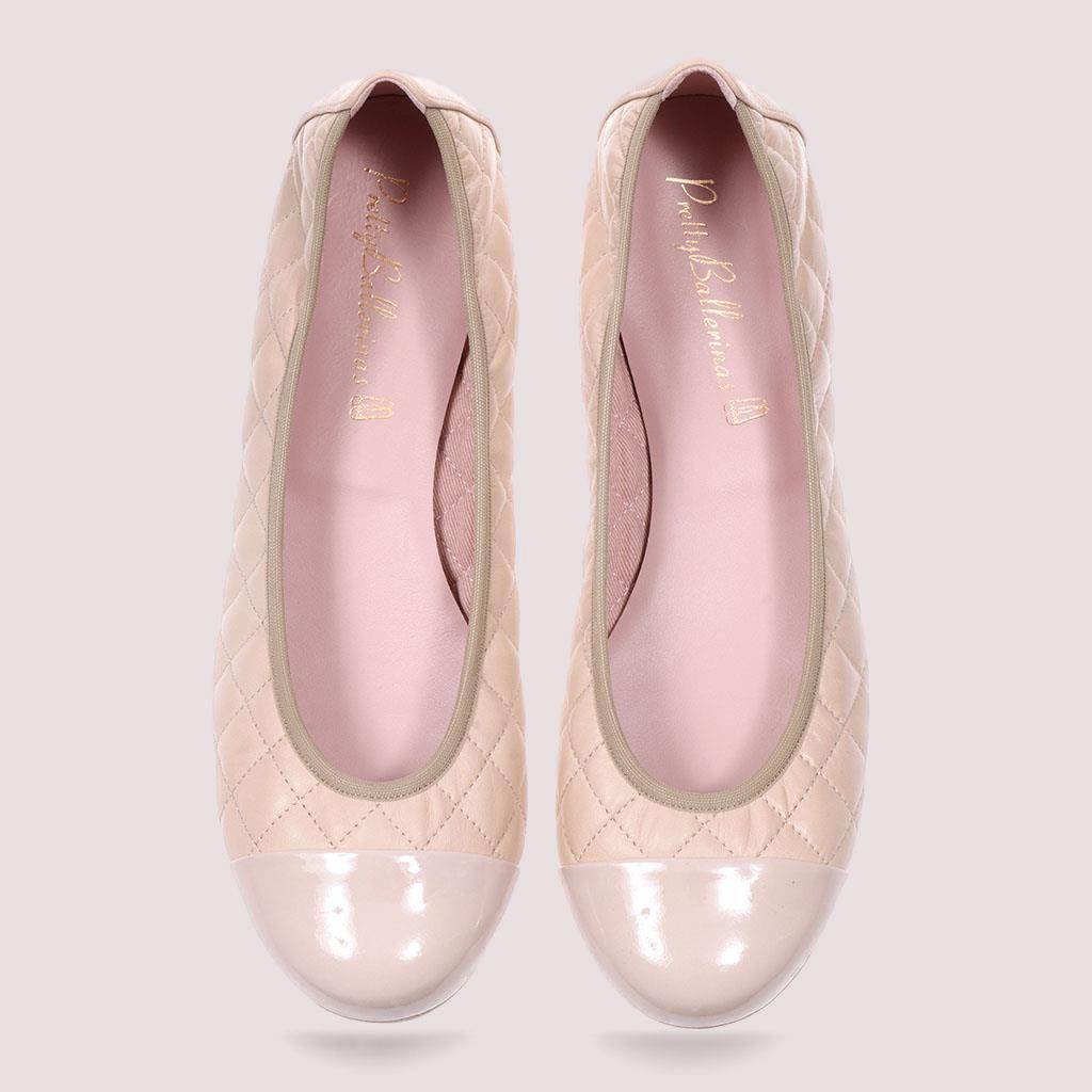 Shirley|ניוד|חום|נעלי בובה|נעלי בלרינה|נעליים שטוחות|נעליים נוחות|ballerinas