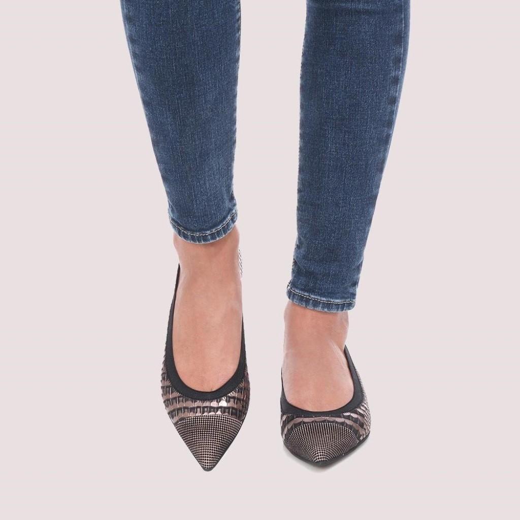 Ella|שחור|כאמל|זהב|נעלי בובה|נעלי בלרינה|נעליים שטוחות|נעליים נוחות|ballerinas