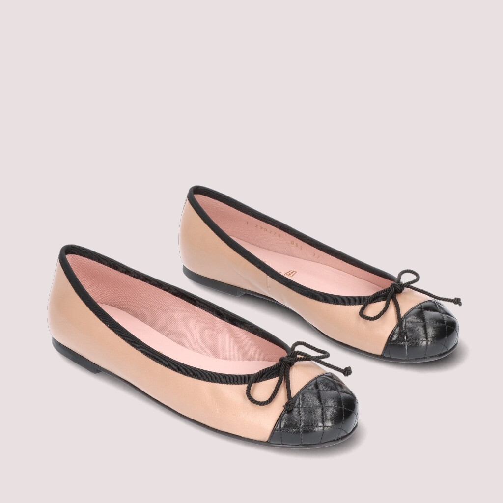 Rosario|שחור|חום|נעלי בובה|נעלי בלרינה|נעליים שטוחות|נעליים נוחות|ballerinas