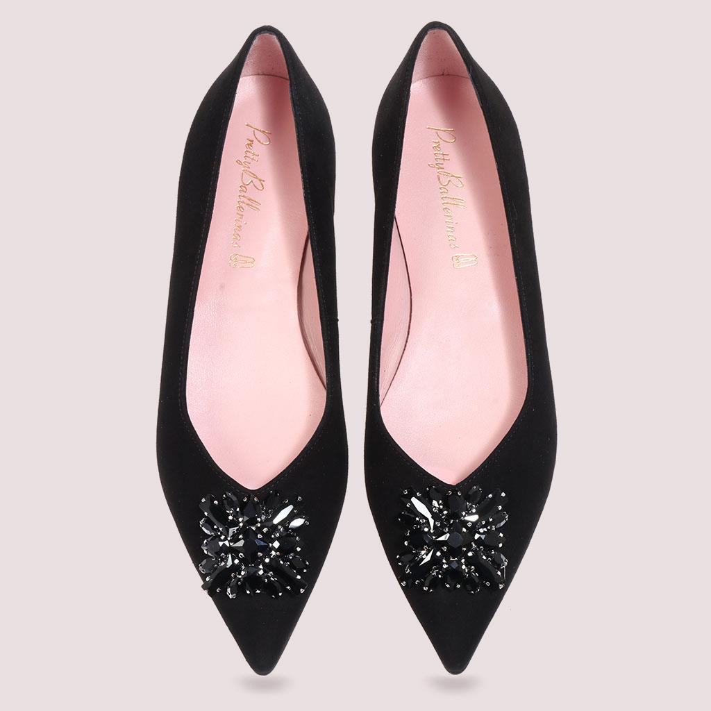 Miriam שחור נעלי בובה נעלי בלרינה נעליים שטוחות נעליים נוחות ballerinas