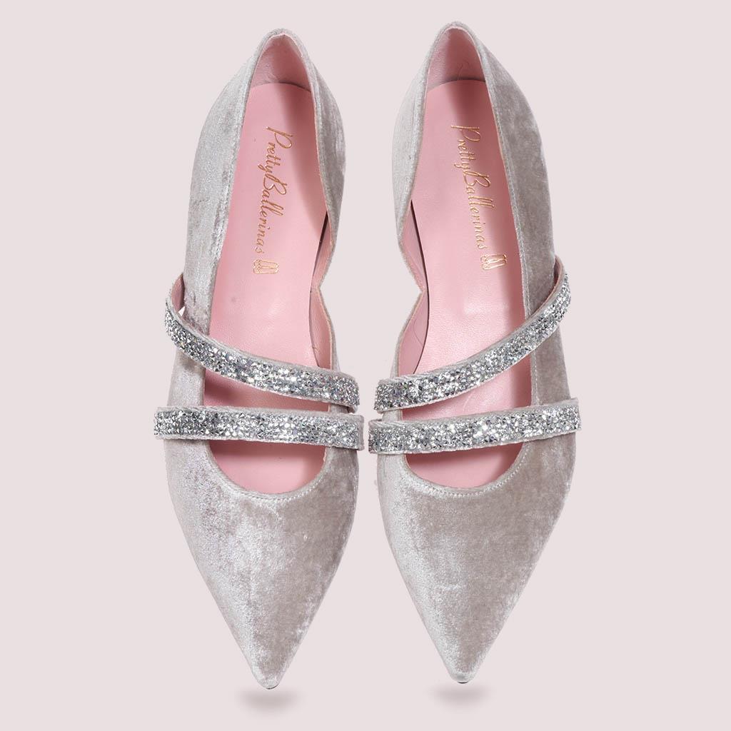 Serena|פנינה|נעלי בובה|נעלי בלרינה|נעליים שטוחות|נעליים נוחות|ballerinas
