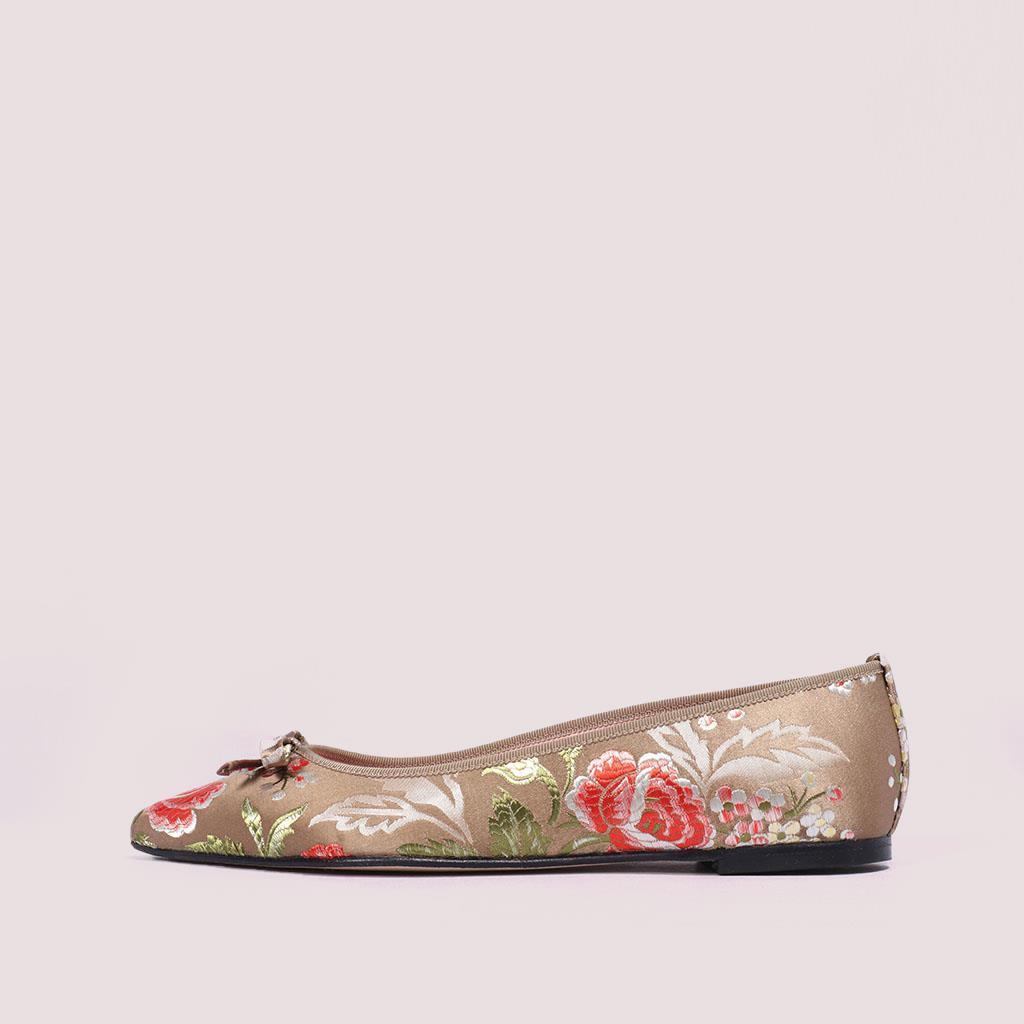 Ella|זהב|אדום|ירוק|נעלי בובה|נעלי בלרינה|נעליים שטוחות|נעליים נוחות|ballerinas
