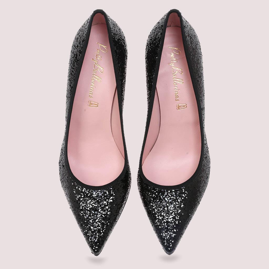 Aconite|שחור|עקב|נעלי עקב|Heels