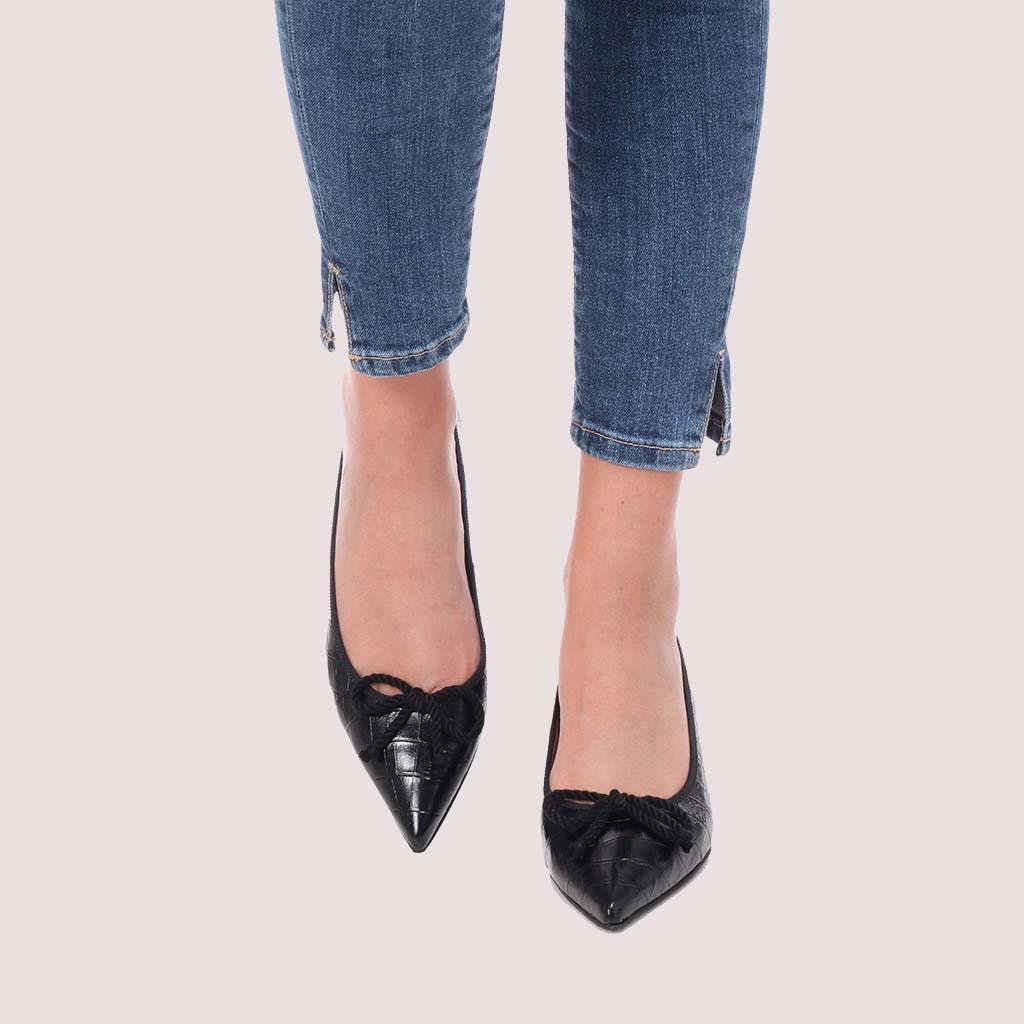 Kendall שחור עקב נעלי עקב Heels
