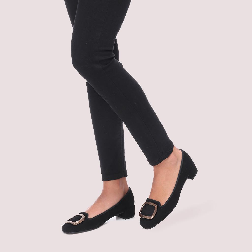 Odette|שחור|עקב|נעלי עקב|Heels
