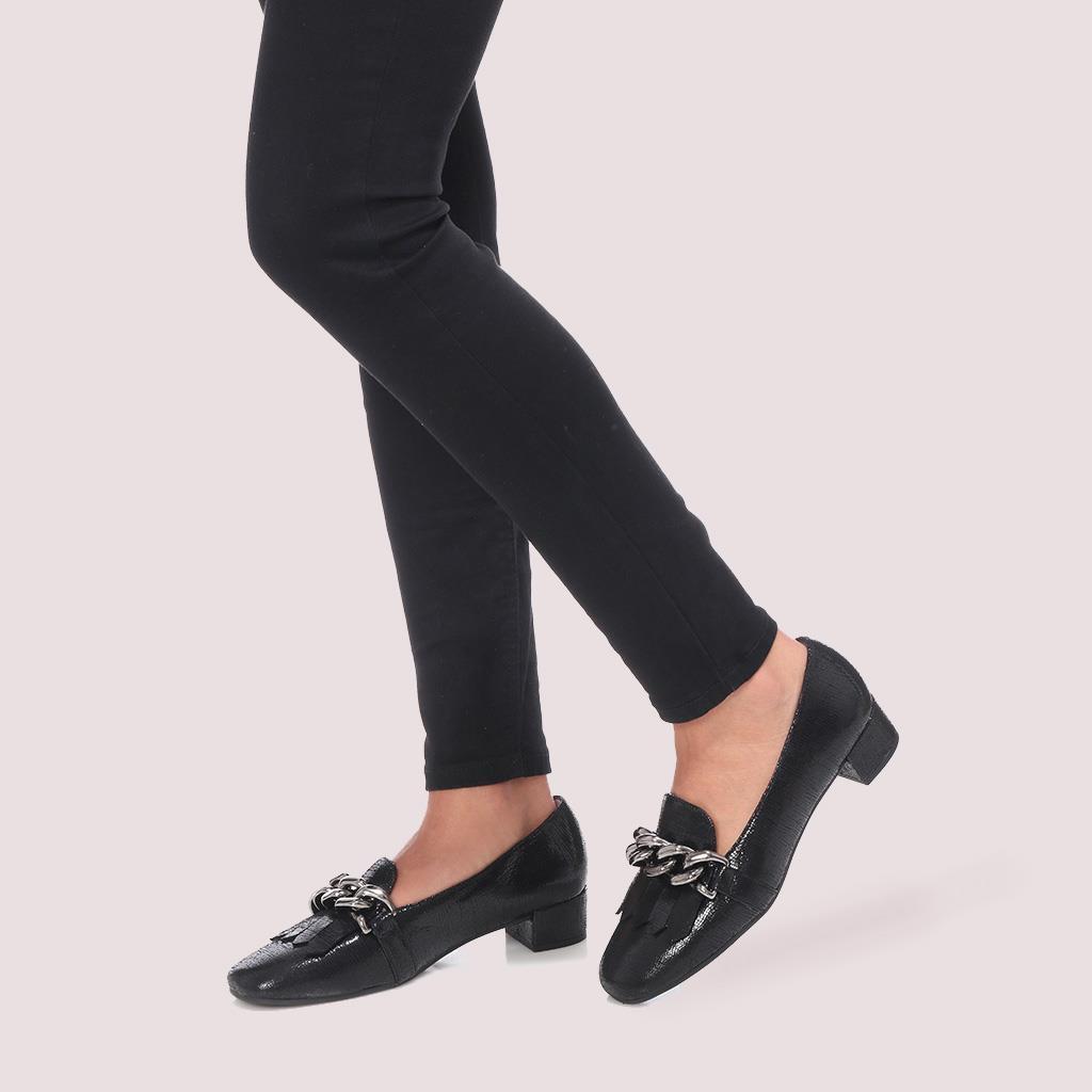 Odette שחור עקב נעלי עקב Heels
