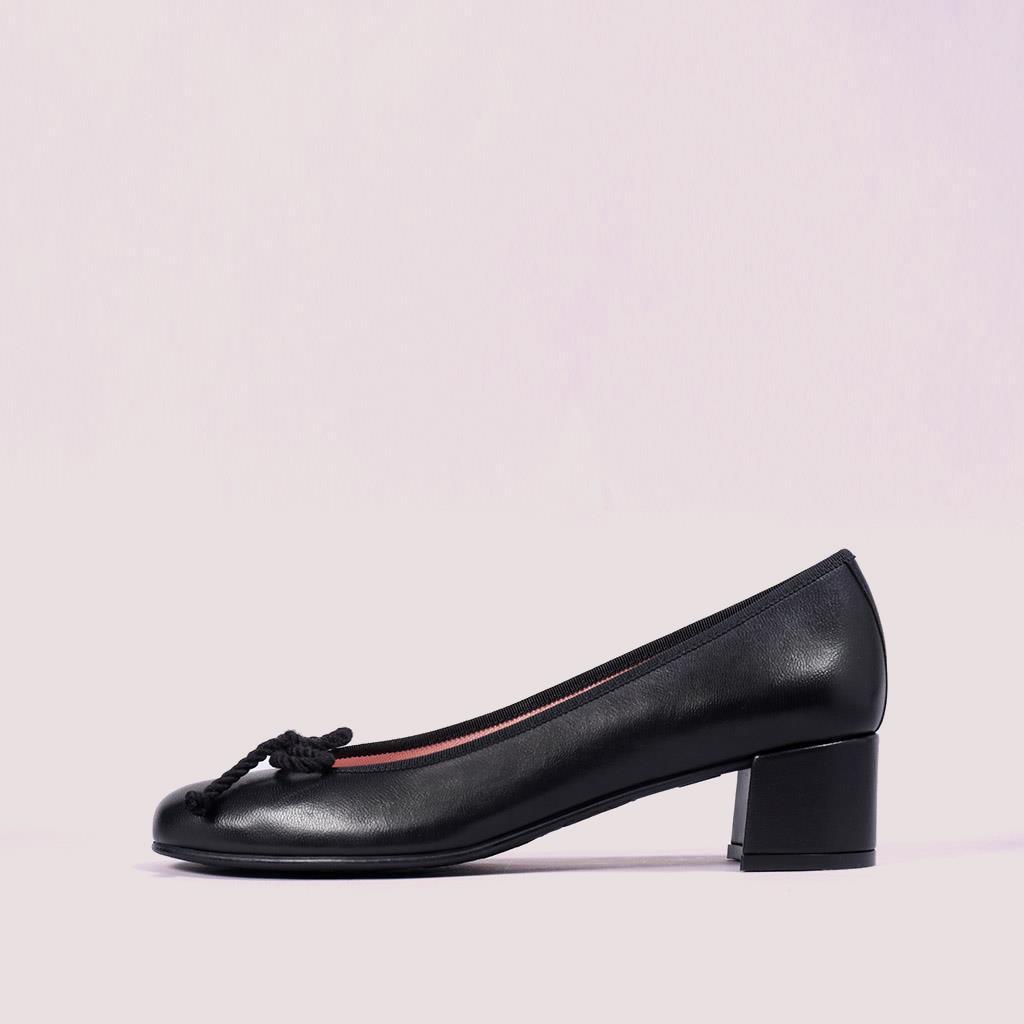 Joanna שחור עקב נעלי עקב Heels