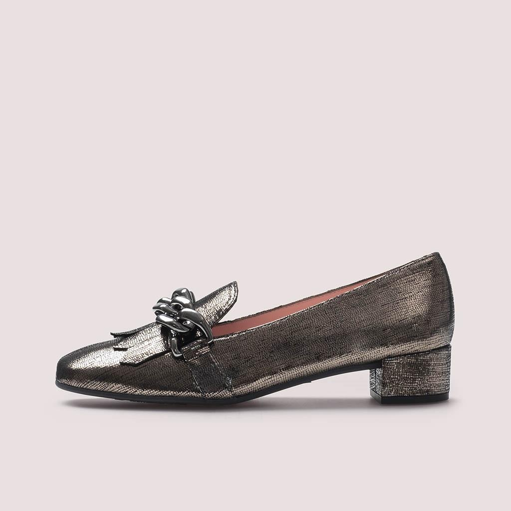 Odette|כסף|אפור|עקב|נעלי עקב|Heels