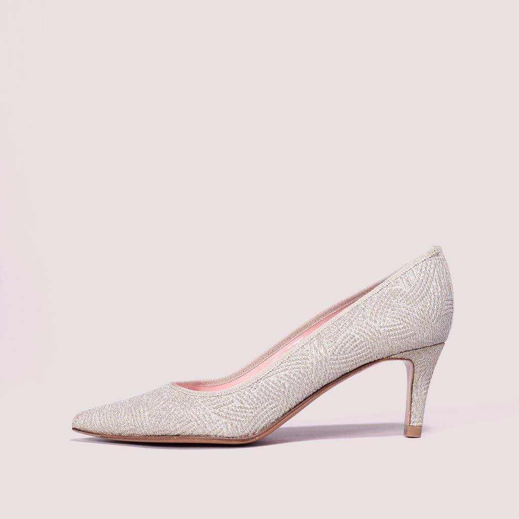 Phoebe כסף עקב נעלי עקב Heels