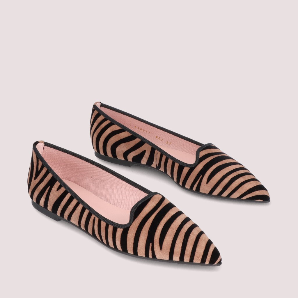 Ella|כאמל|חום|נעלי בובה|נעלי בלרינה|נעליים שטוחות|נעליים נוחות|ballerinas