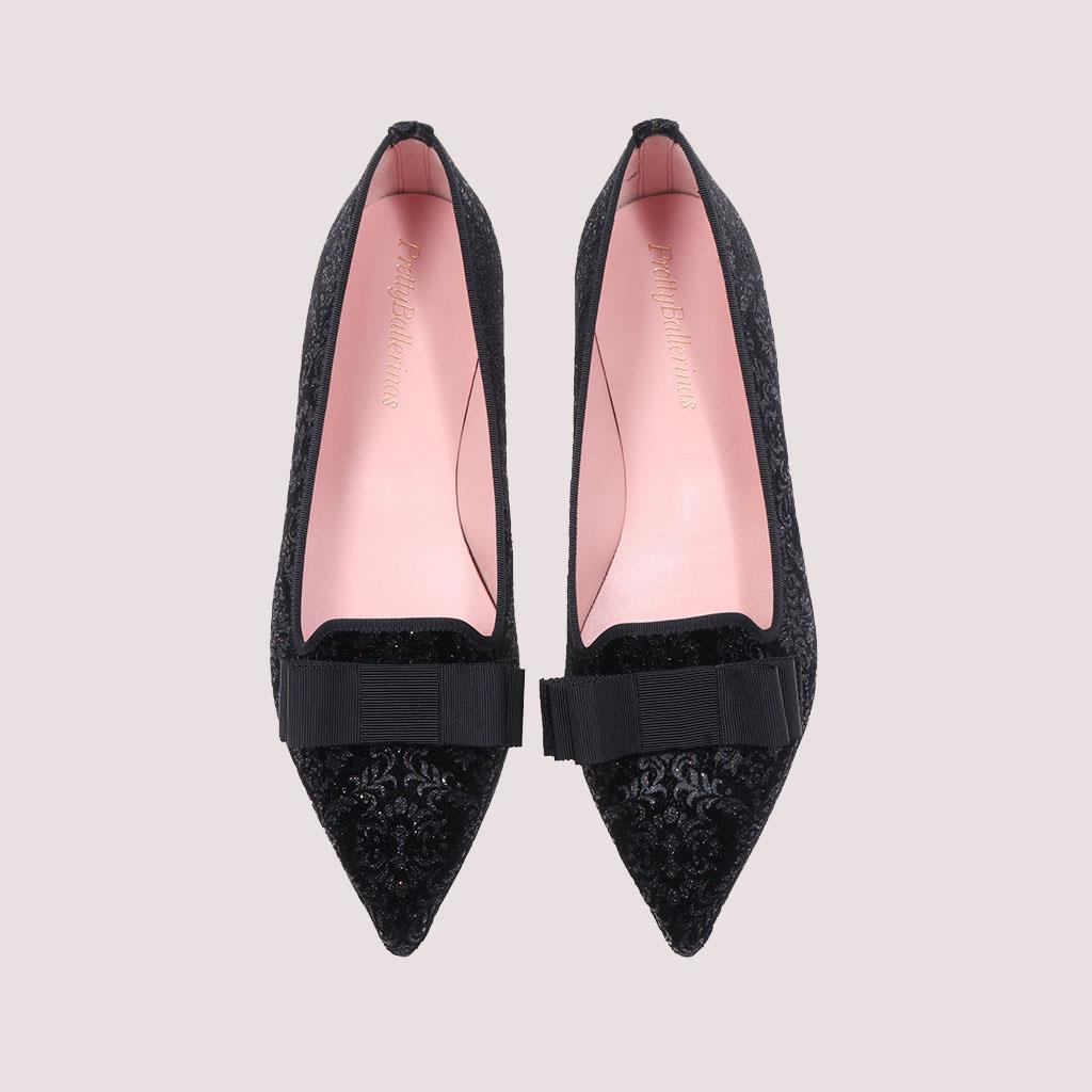 Ella|שחור|ברונזה|נעלי בובה|נעלי בלרינה|נעליים שטוחות|נעליים נוחות|ballerinas
