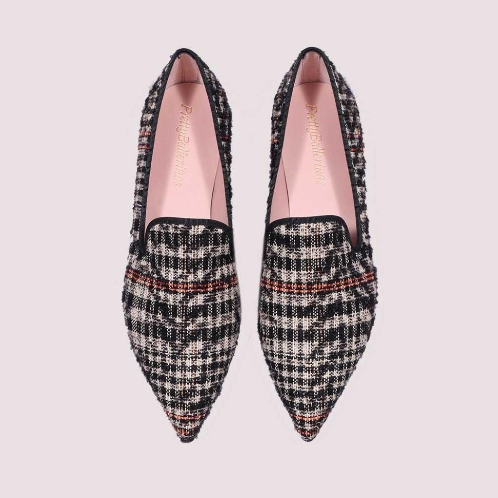 Ella|שחור|אבן|ורוד|נעלי בובה|נעלי בלרינה|נעליים שטוחות|נעליים נוחות|ballerinas