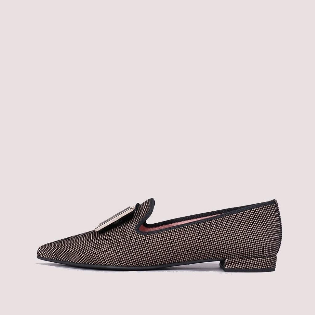 Clementine|שחור|כאמל|חום|אבן|נעלי בובה|נעלי בלרינה|נעליים שטוחות|נעליים נוחות|ballerinas