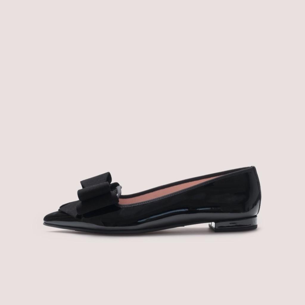 Clementine שחור נעלי בובה נעלי בלרינה נעליים שטוחות נעליים נוחות ballerinas