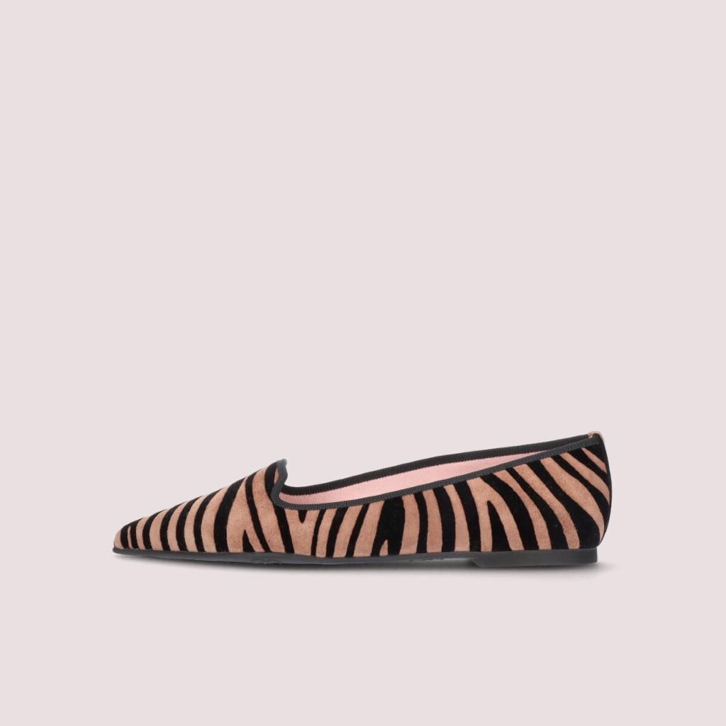 Ella כאמל חום נעלי בובה נעלי בלרינה נעליים שטוחות נעליים נוחות ballerinas