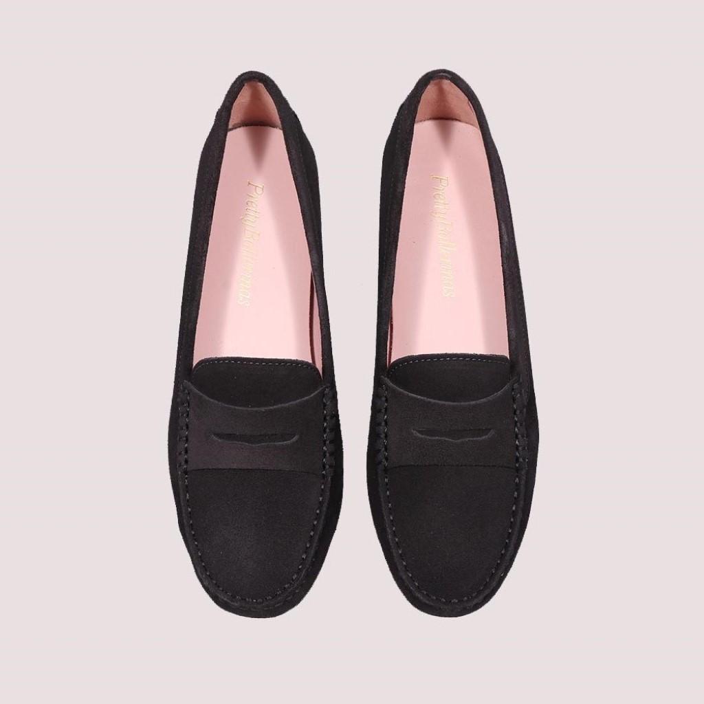 Josephine|אפור|מוקסין|מוקסינים|נעליים שטוחות|moccasin