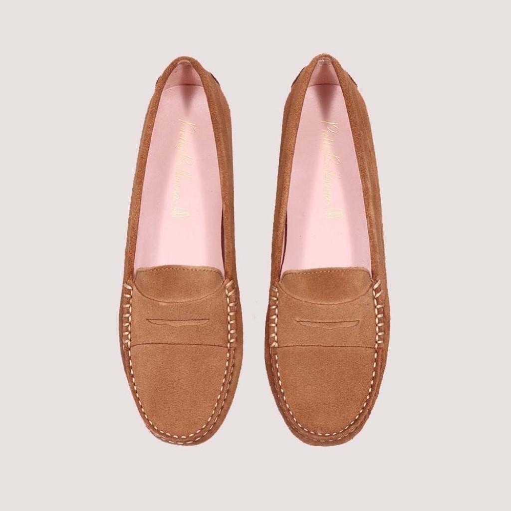 Josephine|חום|מוקסין|מוקסינים|נעליים שטוחות|moccasin