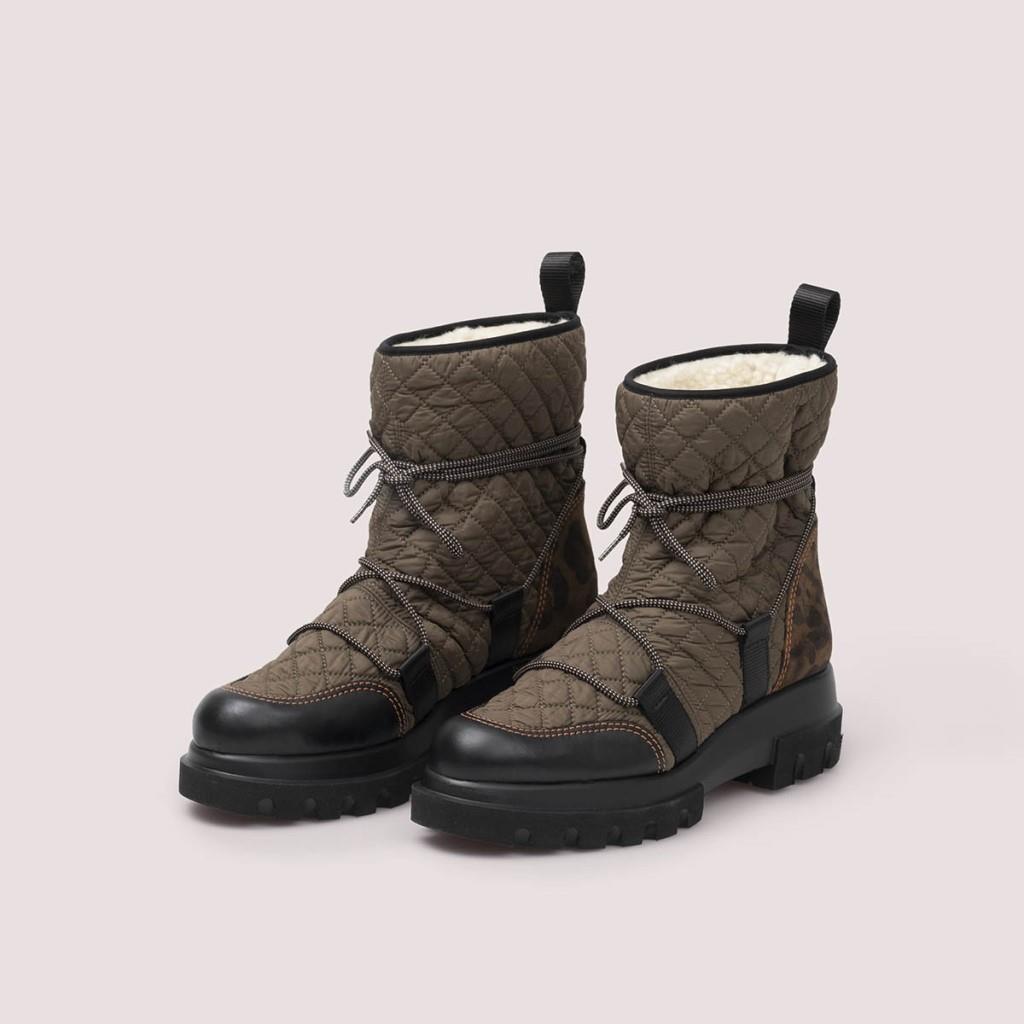Lara|שחור|חאקי|נעל|נעליים|shoes