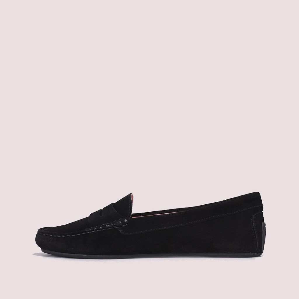 Josephine|שחור|מוקסין|מוקסינים|נעליים שטוחות|moccasin